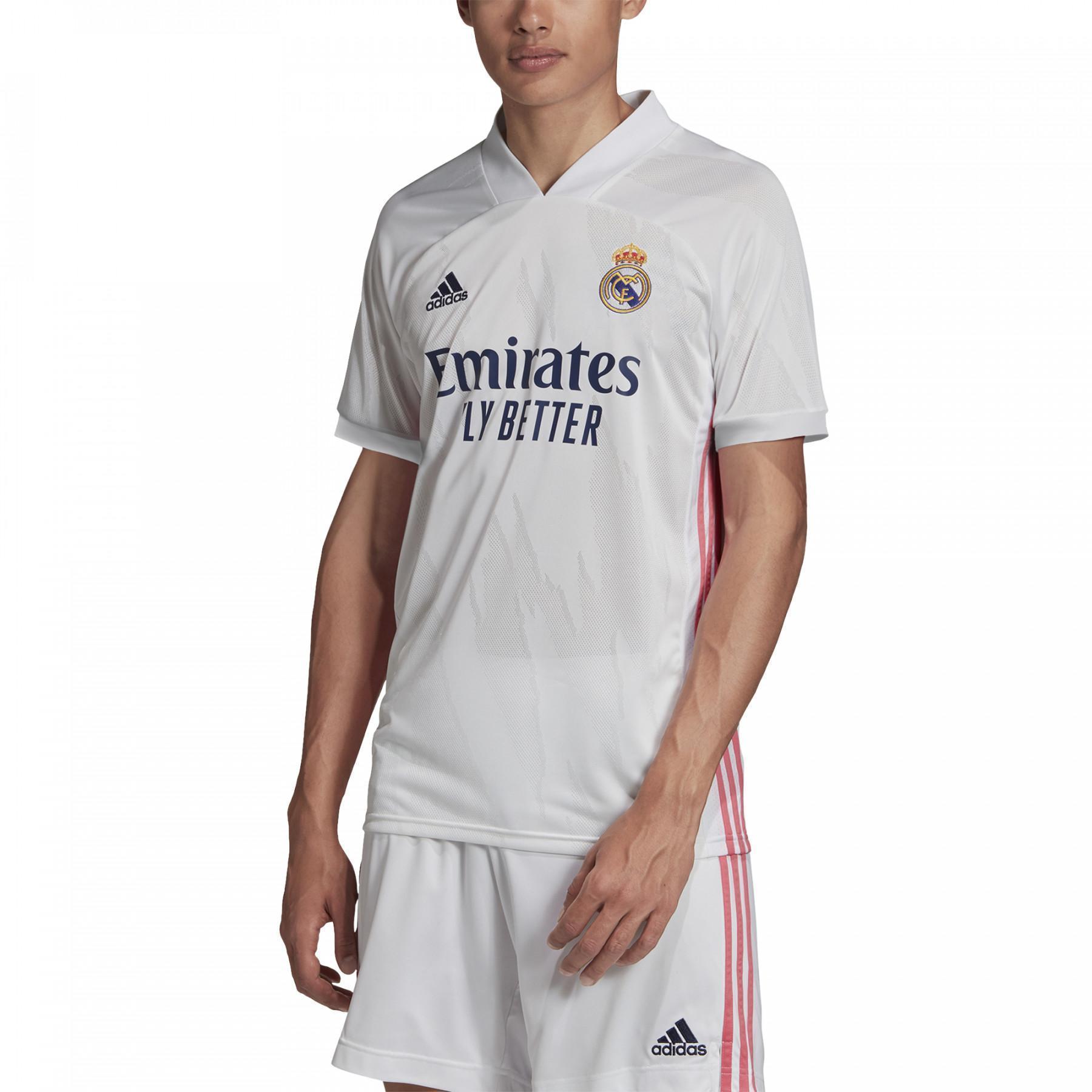 Camiseta Primera Equipación Real Madrid 2020/21