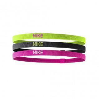 Juego de 3 cintas elásticas Nike para la cabeza