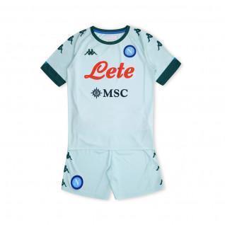 SSC Napoli 2020/21 Conjunto de exterior para niños