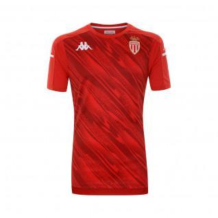 Camiseta de calentamiento para niños AS Monaco 2020/21 aboupres pro 4