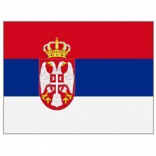 Drapeau Supporter Shop  Serbie