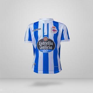 Camiseta juvenil de casa del RCD La Coruña 2018/19