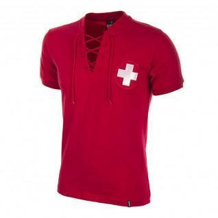Camiseta de casa Suiza Copa del Mundo 1954