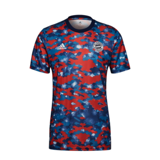 Camiseta de calentamiento fc Bayern Munich 2021/22