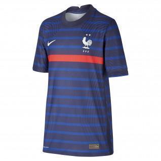 Auténtica camiseta de casa para niños France