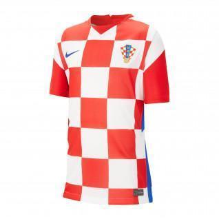 Jersey de la casa de los niños Croatie 2020