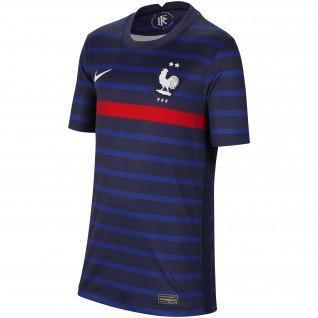 Camiseta de casa de Francia 2020 para jóvenes