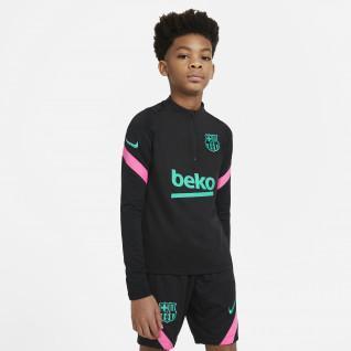 Camiseta Barcelona Strike 2020/21 para niños