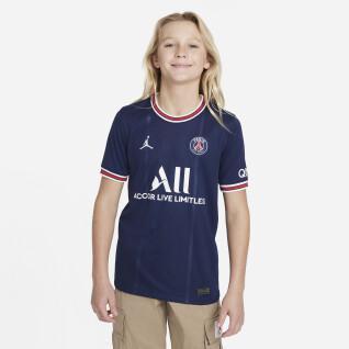 Camiseta Primera equipación PSG 2021/22 para niños