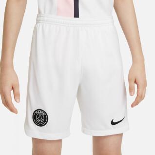 Pantalones cortos de exterior para niños PSG 2021/22