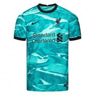 Camiseta de exterior del Liverpool 2020/21 para niños