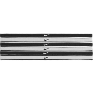 Pack de 6 gomas de pelo con la punta del Swoosh de Nike