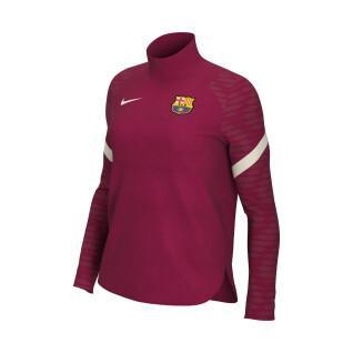 Sudadera de mujer FC Barcelone Dynamic Fit Strike 2021/22