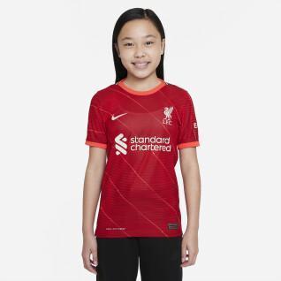 Auténtica camiseta de casa para niños liverpool fc 2021/22