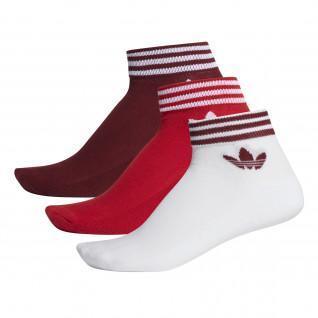 Calcetines Adidas trébol (x3)