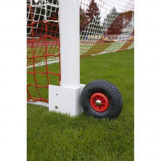 Ruedas para portería de fútbol 11 transportable Power Shot