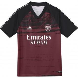 Camiseta de calentamiento del Arsenal 2020/21 para niños