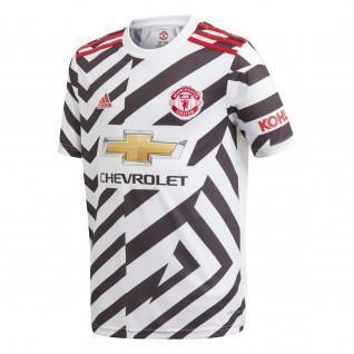 Tercera camiseta juvenil del Manchester United 2020/21