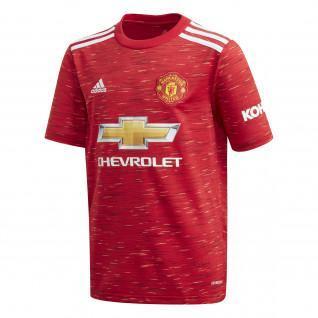 Camiseta de casa del Manchester United para niños 2020/21