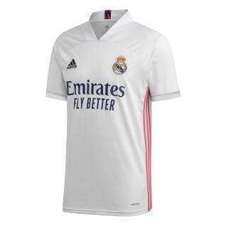 Camiseta de la 1a equipación del Real Madrid 2020/21
