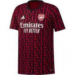 Camiseta del Arsenal antes del partido 2020/21