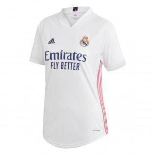 Camiseta de la 1a equipación de mujer del Real Madrid 2020/21