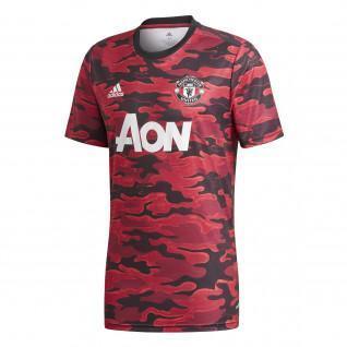 Camiseta del Manchester United antes del partido 2020/21