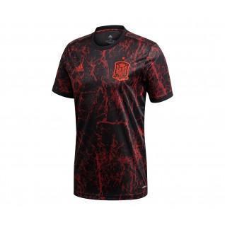 Camiseta de España antes del partido de la Eurocopa 2020