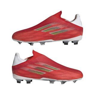 Zapatillas de fútbol para niños Adidas X Speedflow FG