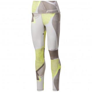 Leggings de cintura alta para mujer Reebok Lux Bold