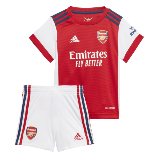 Kit de bebé en casa Arsenal 2021/22