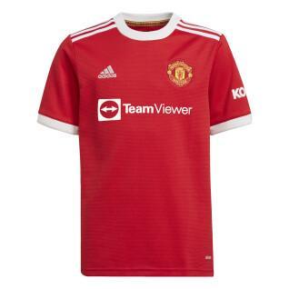 Jersey de la casa de los niños Manchester United 2021/22