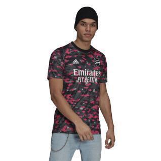 Camiseta antes del partido Arsenal 2021/22