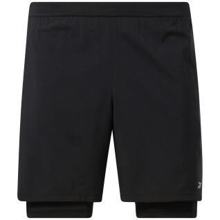 Pantalones cortos para correr Reebok 2 en 2