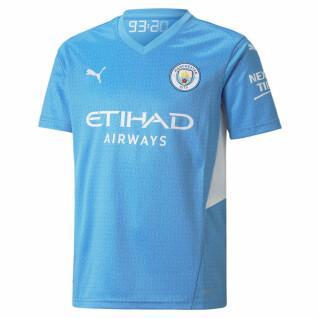 camiseta de casa del manchester city 2021/22