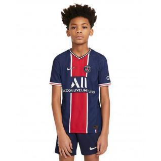Auténtica camiseta de casa del PSG 2020/21 para niños