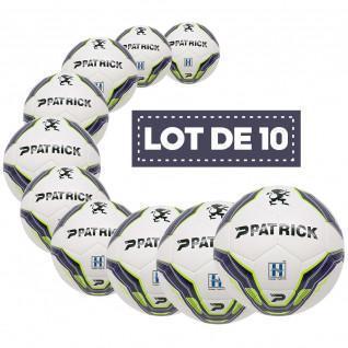 Paquete de 10 balones de entrenamiento Patrick Hybrid Bullet
