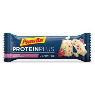 Paquete de 30 barritas PowerBar ProteinPlus L-Carnitin - Frambuesa-Yogur
