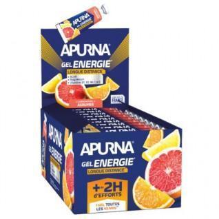 Paquete de 25 geles Apurna Energie longue distance agrumes - 35g
