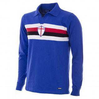 Camiseta de manga larga para el hogar Copa U.C Sampdoria 1956/57