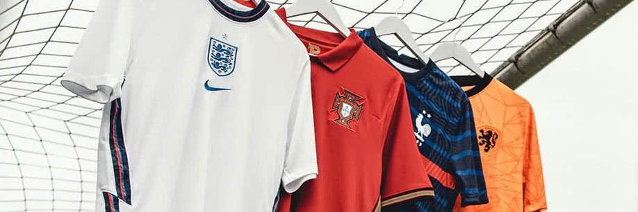 Camisetas para la Eurocopa 2020