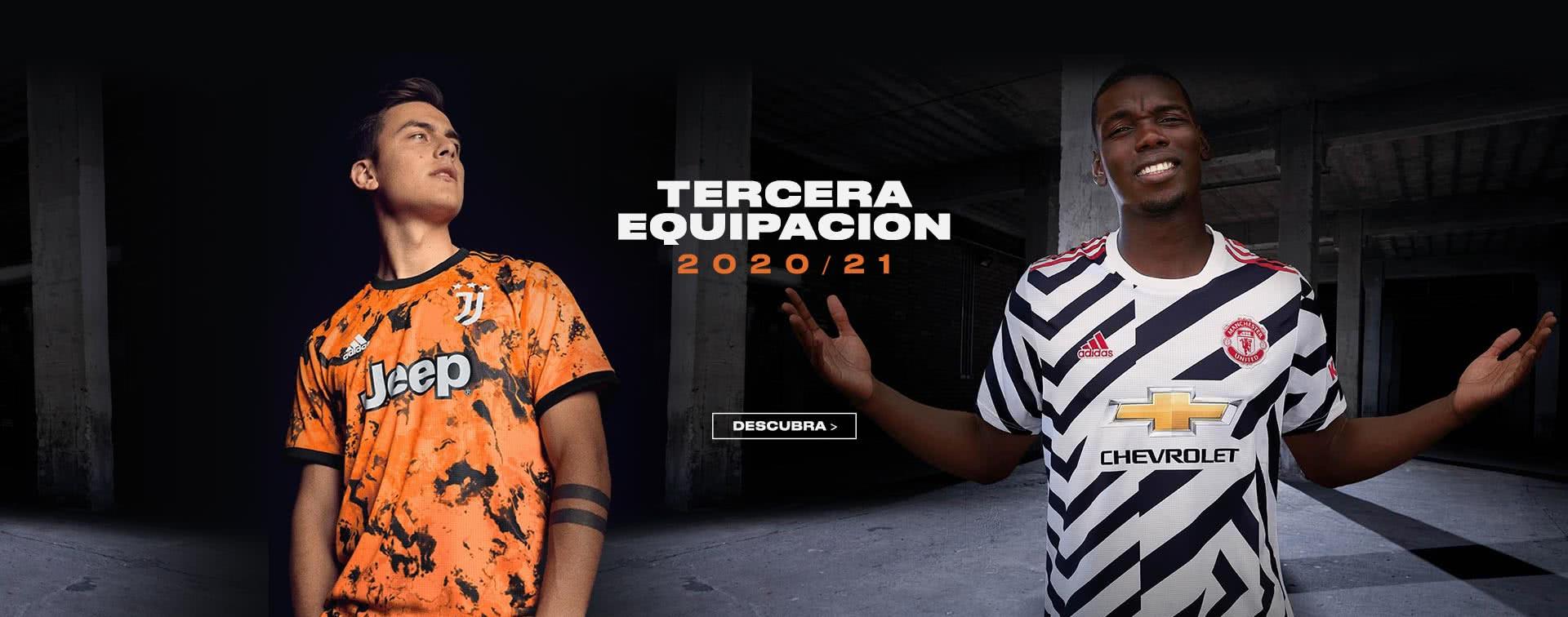 Camisetas de futbol 2020/21